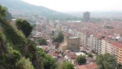 panoramic bursa - stock footage