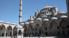 Blue Mosque 4 HD 1080p Stock Footage