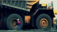 Stock Video Footage Mining Dump Truck Stock Footage