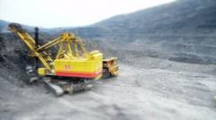 Stock Video Footage Mining Dump Truck heavi track - stock footage