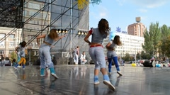 Stock Video Footage of Modern choreography. Dance.