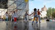Modern choreography. Dance. Stock Footage