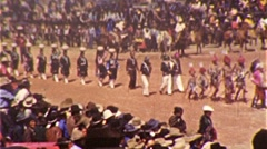 Native American INDIAN CEREMONY Hopi Zuni Dance 1940 Vintage Film Home Movie 331 Stock Footage