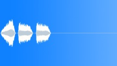 Triple bleep - laser button Sound Effect