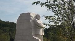 Martin Luther King Memorial Washington DC Arkistovideo