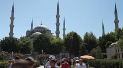 Blue Mosque 5 HD 1080p Stock Footage