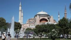 Hagia Sophia Scene HD 1080p Stock Footage