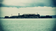 Alcatraz Prison San Francisco Stock Footage