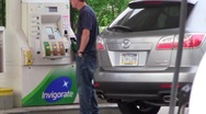 Stock Video Footage of gas station7