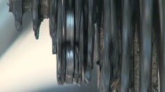Bicycle Gears Stock Footage
