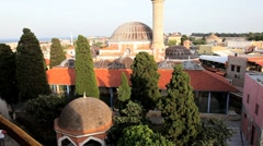 Rhodes Island with Rhodes town, Greece, Europe Stock Footage