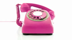 Mad phone pink Stock Footage
