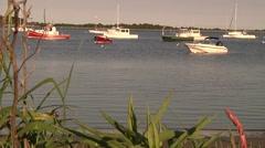 Cape Cod Harbor 3 - stock footage
