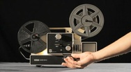 Super 8 Projector Stock Footage