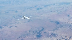 Unmanned Aerial Vehicle Stock Footage