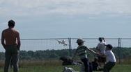 Sukhoi Superjet 100 Landing Stock Footage