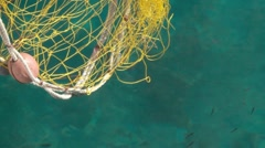 Fishing Net Stock Footage