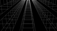 Cubes road Stock Footage