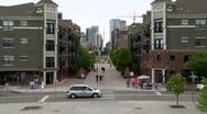 Denver Pedestrian Time Lapse Stock Footage