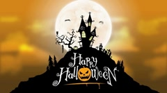 Spooky Halloween Background After Effects Template - stock after effects