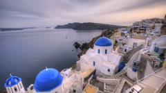 Santorini Oia - stock footage