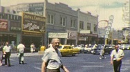 "Stock Video Footage of ""Downtown"" Las Vegas Nevada Circa 1960 (Vintage Film 8mm Home Movie) 257"