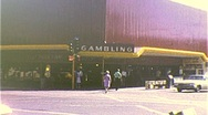 Stock Video Footage of CASINO GAMBLING Street Scene LAS VEGAS 1960s Vintage Film 8mm Home Movie 263