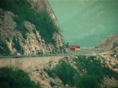 Mountain Road Stock Footage