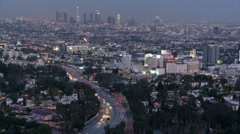 Hollywood Nights Stock Footage
