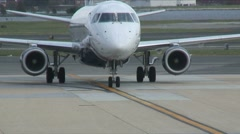 At airport 4 Stock Footage