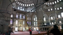 Blue Mosque 2 HD 1080p Stock Footage