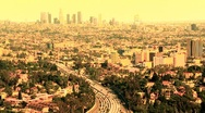 Stock Video Footage of Downtown Los Angeles Traffic - Time Lapse