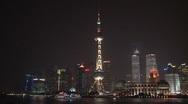 Stock Video Footage of Skyline Shanghai