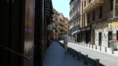 Madrid Latin quarter 4 Stock Footage