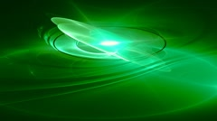 Green whirl motion background d4489 Stock Footage