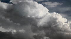 Stock Video Footage of Fluffy Clouds Timelapse