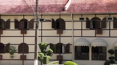 Hotel in german still, Blumenau, Brazil Stock Footage