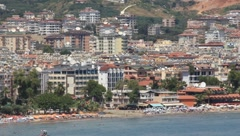 Seacoast, Alanya, Turkey - stock footage