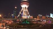 Stock Video Footage of Oriental Pearl Tower