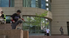 Parkour Athlete - stock footage