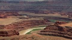 Colorado River Canyonlands - stock footage
