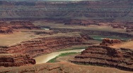 Stock Video Footage of Colorado River Canyonlands