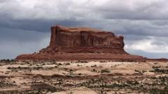 Utah Mesa - stock footage