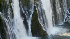 Burney Falls, McArthur-Burney Falls Memorial State Park Stock Footage