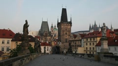 Prague, Czech Republic Stock Footage
