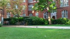 Campus in London Stock Footage
