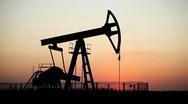 HD Fossil Fuel Energy, Oil Pump, Pumpjack, Old Pumping Unit, Jack Pump, Sunset Stock Footage
