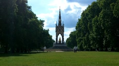Hyde Park London 05 Stock Footage