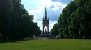 Stock Video Footage of Hyde Park London 05