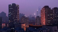 Stock Video Footage of Downtown Shanghai